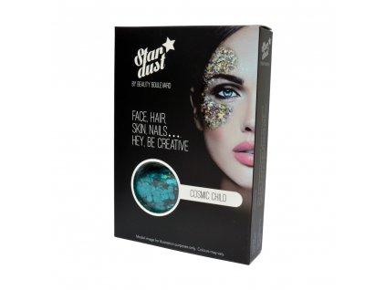 Stardust - vodoodolné trblietky na telo a vlasy - Cosmic Child