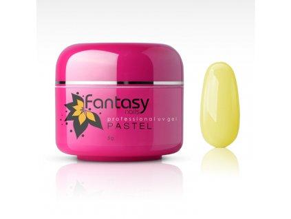 Farebný UV gél Fantasy Pastel 5g - Light Yellow