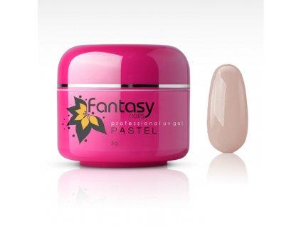 Farebný UV gél Fantasy Pastel 5g - Nude Pink