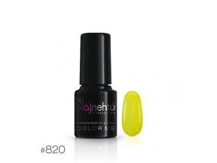 UV gél lak Color Me 6g - č.820
