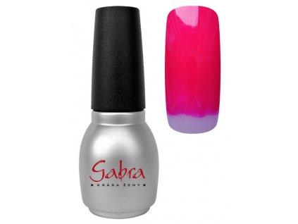 GABRA gél lak All in One - Pink tmavá
