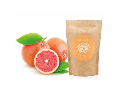 Body Boom kávový peeling - Grapefruit 30g