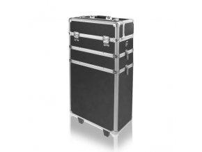 Velký kosmetický kufr SENSE 3v1 - černý