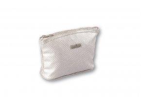 Top Choice Kosmetická taška DOTS - SILVER 97621