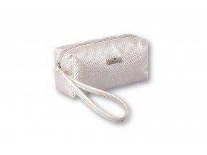 Top Choice Kosmetická taška DOTS - SILVER 97638