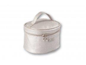 Top Choice Kosmetická taška DOTS - SILVER 97645