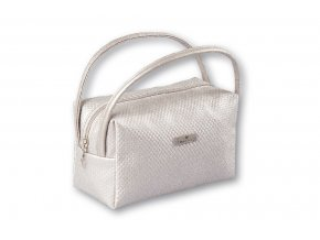 Top Choice Kosmetická taška DOTS - SILVER 97652