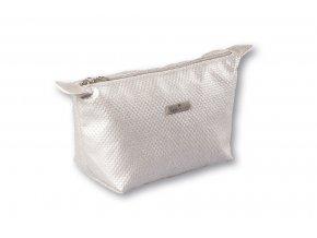 Top Choice Kosmetická taška DOTS - SILVER 97669