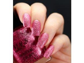 Lak na nechty s pieskovým efektom - Rose Quartz