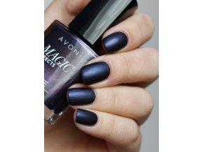 Lak na nechty s matujúcim efektom - Inky Blue
