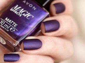 Lak na nechty s matujúcim efektom - Violetta