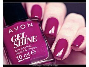 Lak na nechty Gel Shine - Very Berry