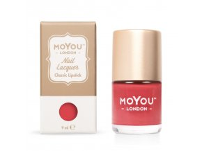 Razítkovací lak na nehty - Classic Lipstick 9 ml