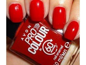 Lak na nehty rychleschnoucí 3v1 - Lightening Red