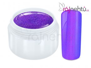 Ráj nehtů Barevný UV gel FLIPFLOP - Purple Blue 5ml