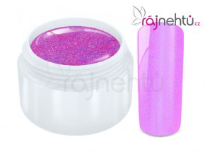 Ráj nehtů Barevný UV gel FLIPFLOP - Pink 5ml