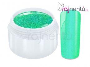 Ráj nehtů Barevný UV gel FLIPFLOP - Green 5ml