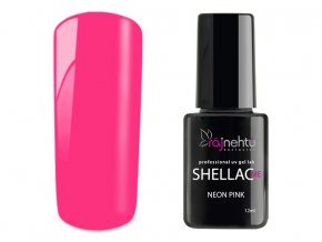 UV gel lak Shellac Me 12ml - Neon Pink