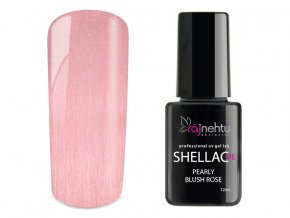 UV gel lak Shellac Me 12ml - Pearly Blush Rose