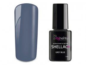 UV gel lak Shellac Me 12ml - Grey Blue