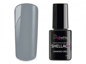 UV gel lak Shellac Me 12ml - Diamond Grey