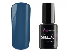 UV gel lak Shellac Me 12ml - Galaxy Blue