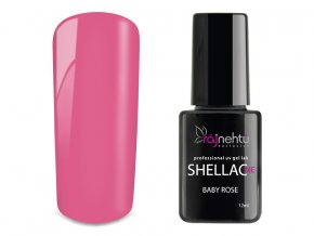 UV gel lak Shellac Me 12ml - Baby Rose