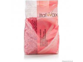 Italwax depilační vosk zrnka Rose 500 g