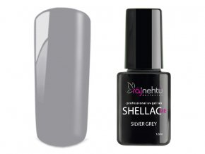 UV gel lak Shellac Me 12ml - Silver Grey
