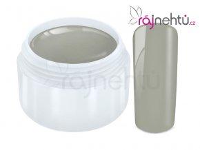 Ráj nehtů Barevný UV gel PASTEL - Grey 5ml