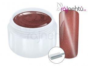 Ráj nehtů Barevný UV gel CAT EYE MAGNET - Red 5 ml