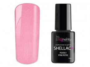 UV gel lak Shellac Me 12ml - Pearly Pink Rose