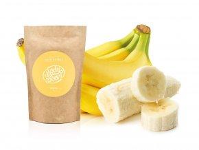Body Boom kávový peeling - Banán 200g