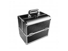 Kosmetický kufřík SENSE - dekor, černý