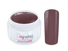 Ráj nehtů Barevný UV gel NUDE - Mud 5ml