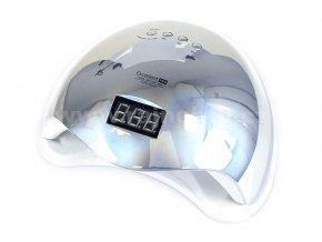 UV/LED LAMPA Excellent Pro 48W Home stříbrná