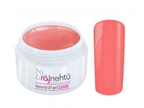 Ráj nehtů Barevný UV gel CLASSIC - Camelia 5ml