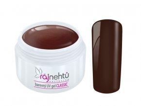 Ráj nehtů Barevný UV gel CLASSIC - Dark Cherry 5ml