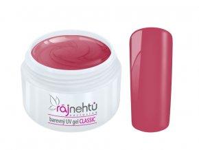 Ráj nehtů Barevný UV gel CLASSIC - Rose 5ml