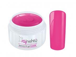 Ráj nehtů Barevný UV gel CLASSIC - Dolls Pink 5ml