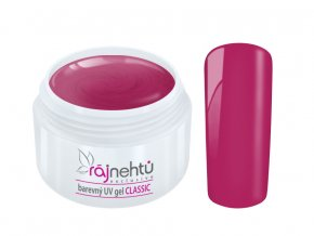 Ráj nehtů Barevný UV gel CLASSIC - Light Pink 5ml