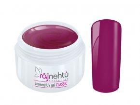 Ráj nehtů Barevný UV gel CLASSIC - Lilac 5ml