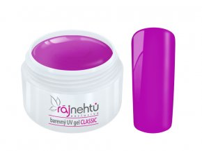 Ráj nehtů Barevný UV gel CLASSIC - Purple Nightshine 5ml