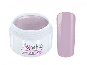 Ráj nehtů Barevný UV gel CLASSIC - Mauve 5ml