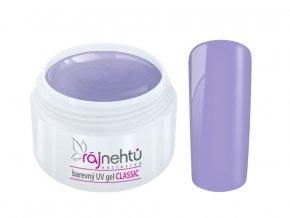 Ráj nehtů Barevný UV gel CLASSIC - Lovely Lavender 5ml
