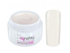 Ráj nehtů Barevný UV gel CLASSIC - Coconut Milk 5ml