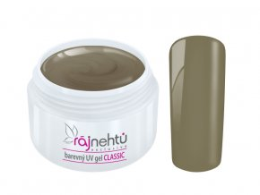Ráj nehtů Barevný UV gel CLASSIC - Dark Olive 5ml