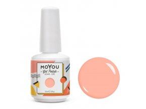 MoYou Premium Gel lak - Tickled Pink 15ml