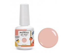 MoYou Premium Gel lak - Send Nudes 15ml