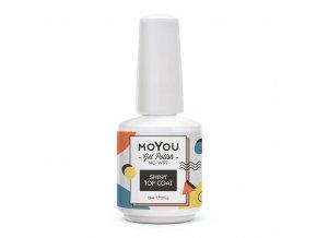 MoYou Premium Gel lak - Shiny Top Coat 15ml